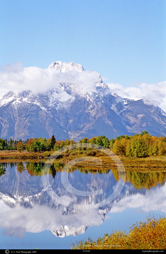 Tetons Reflected on the Snake River